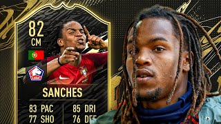The portuguese beast! 👹 82 inform renato sanches player review! - fifa 21 ultimate team