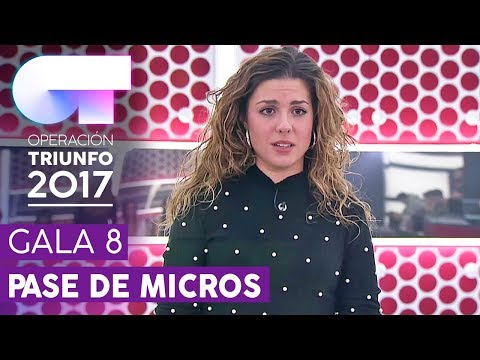 I WANNA DANCE WITH SOMEBODY - Miriam   Primer pase de micros para la Gala 8   OT 2017