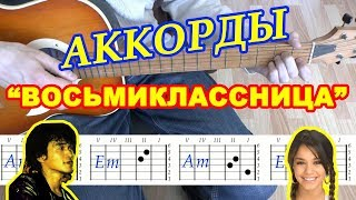 Восьмиклассница Аккорды Виктор Цой группа Кино Разбор песни на гитаре Бой Текст
