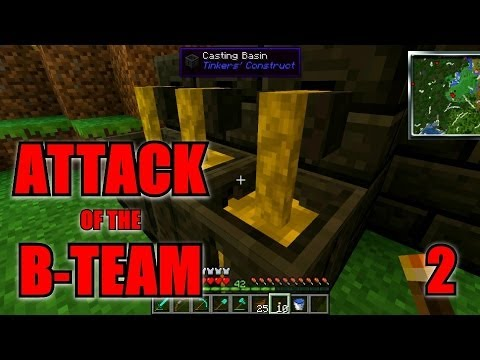How To Build A Smeltery Attack Of The B Team