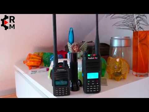 Vorstellung Radioddity GD77 DMR Funkgerät digital/analog