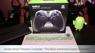 Unboxing & Quick Look of the Nvidia Shield Wireless Controller