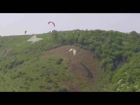 Paragliding Tree Landing Crash High and Over 2018