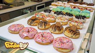 Каждое утро мы делаем 20 видов пончиков / Красивые пончики.