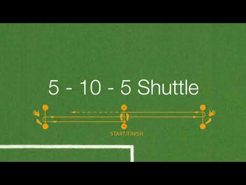 Polytan SMART - 5-10-5 Shuttle Test