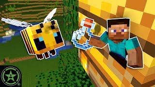We Look for Beehives in Minecraft! - Feed Jack (Part 2)