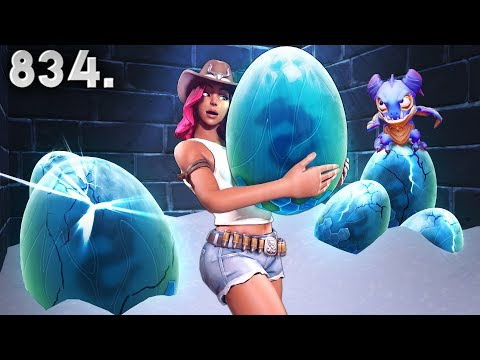 *NEW* DRAGON HIDDEN EGGS!! - Fortnite Funny WTF Fails and Daily Best Moments Ep. 834