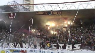 Recibimiento al Carabobo Futbol Club / Granadictos / Carabobo F.C. vs Mineros de Guayana