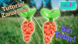 Repeat youtube video ♥ Tutorial: Zanahoria de gomitas (sin telar) ♥