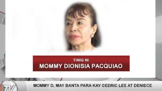 Mommy Dionisia Responds to Cedric Lee & Deniece's Accusations