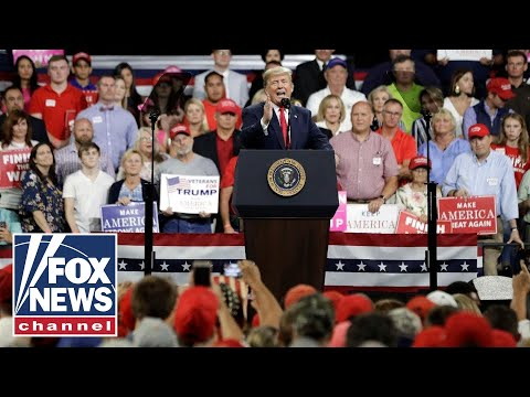 Trump Holds 'MAGA' Rally In Indiana