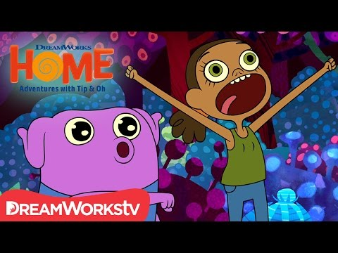 Scared Crazy | DreamWorks Home Adventures With Tip and Oh