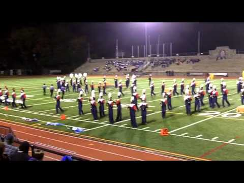 Brien McMahon High School Marching Band...