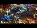 MLHC - Săn Boss Thế Giới Top 1 và Ăn Last Hit Boss Kiếm Kim Cương Pokemon Đại Chiến