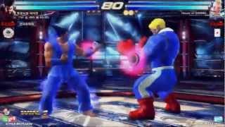 Tekken Tag 2 Unlimited Light (Heihachi/Devil Jin) vs Saint (Jack/Steve)