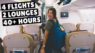 MALDIVES TO EGYPT | SriLankan Airlines & Oman Air
