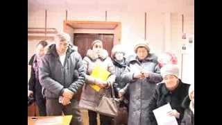 Встреча Николая Асафьева и Юрия Заигралова с жителями