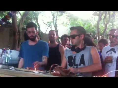 Soul Clap & Wolf + Lamb @ Warung Beach Club - Carnaval 2012