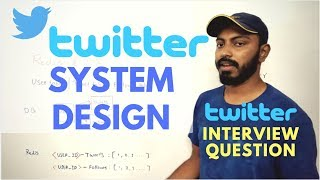 Twitter system design | twitter Software architecture | twitter interview questions