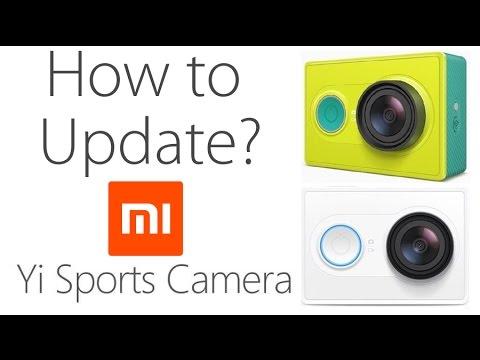 How To Update Xiaomi YI Sports Camera