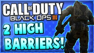 Black Ops 3 Multiplayer - 2 High Barrier Glitches on Nuketown & Infection (COD BO3 Glitches)