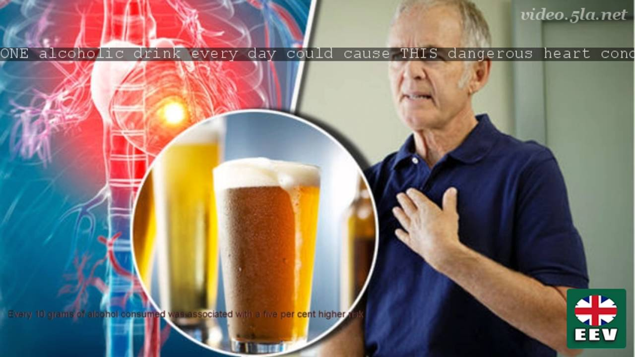 ONE alcoholic drink every day could cause THIS dangerous ...