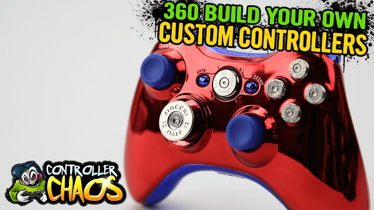 Custom Xbox 360 Controllers Build Your Own Controller Chaos Youtube