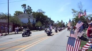 United States Marine Gunnery Sgt. Daniel Price Funeral Procession - Holland, Michigan