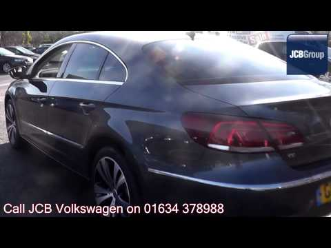 2013 Volkswagen CC BlueMotion Tech GT 2l Island Grey Metallic GF13DDE for sale at JCB VW Medway