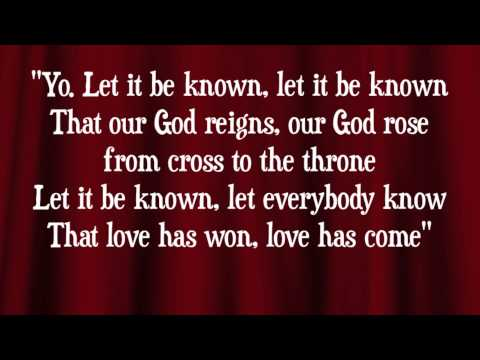 Worship Central - Let It Be Known - (with lyrics)