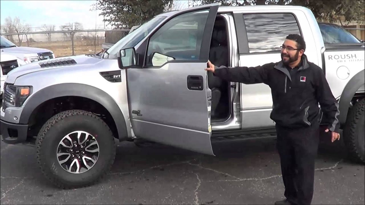 2013 Roush Raptor Silver Rogers Ford In Midland Texas 1