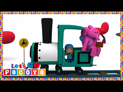 Let's Go Pocoyo! - Travel with Pato [Episode 10] in HD