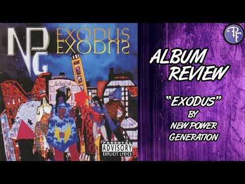 Exodus (1995) - New Power Generation - Album Review (Prince)