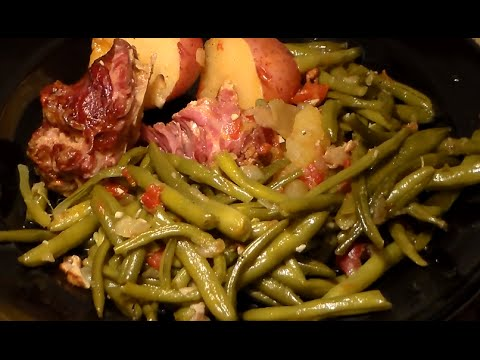 Soul Food String Beans Recipe