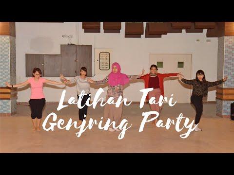 LATIHAN TARI GENJRING PARTY (MY FIRST TIME)