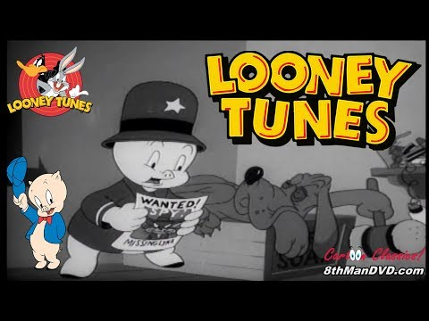 LOONEY TUNES (Looney Toons): Confusions of a Nutzy Spy (Porky Pig) (1943) (Remastered) (HD 1080p)