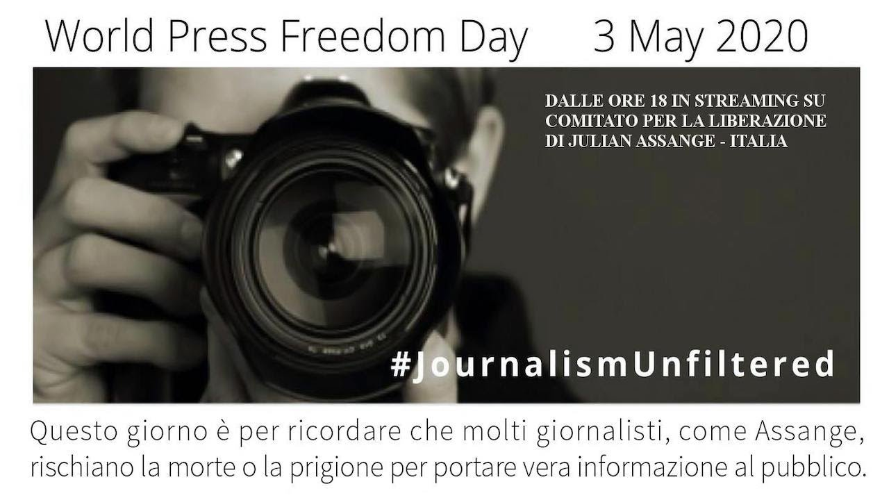 World press freedom day - 3 may 2020
