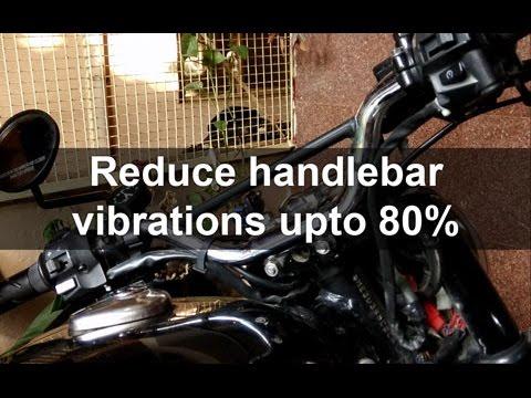 B1u6 How To Reduce Handlebar Vibrations In Royal Enfield Youtube