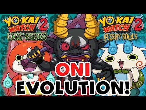 Yo-kai Watch 2 — Oni Evolution 2.0 Update Complete Guide