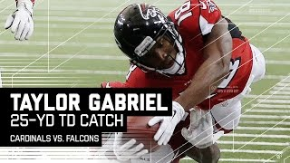 Taylor Gabriel Takes It to the House Again! | Cardinal vs. Falcons | NFL
