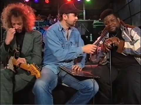 Buddy Miles & Randy Hansen - Interview, Slovenia, 1997