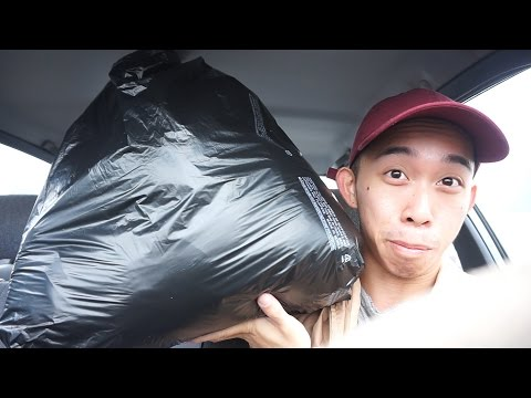 ALL THIS FOR $20? Trench coat fabric!  | Trip to the swap meet!