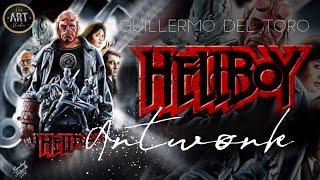 Hell boy Digital Painting