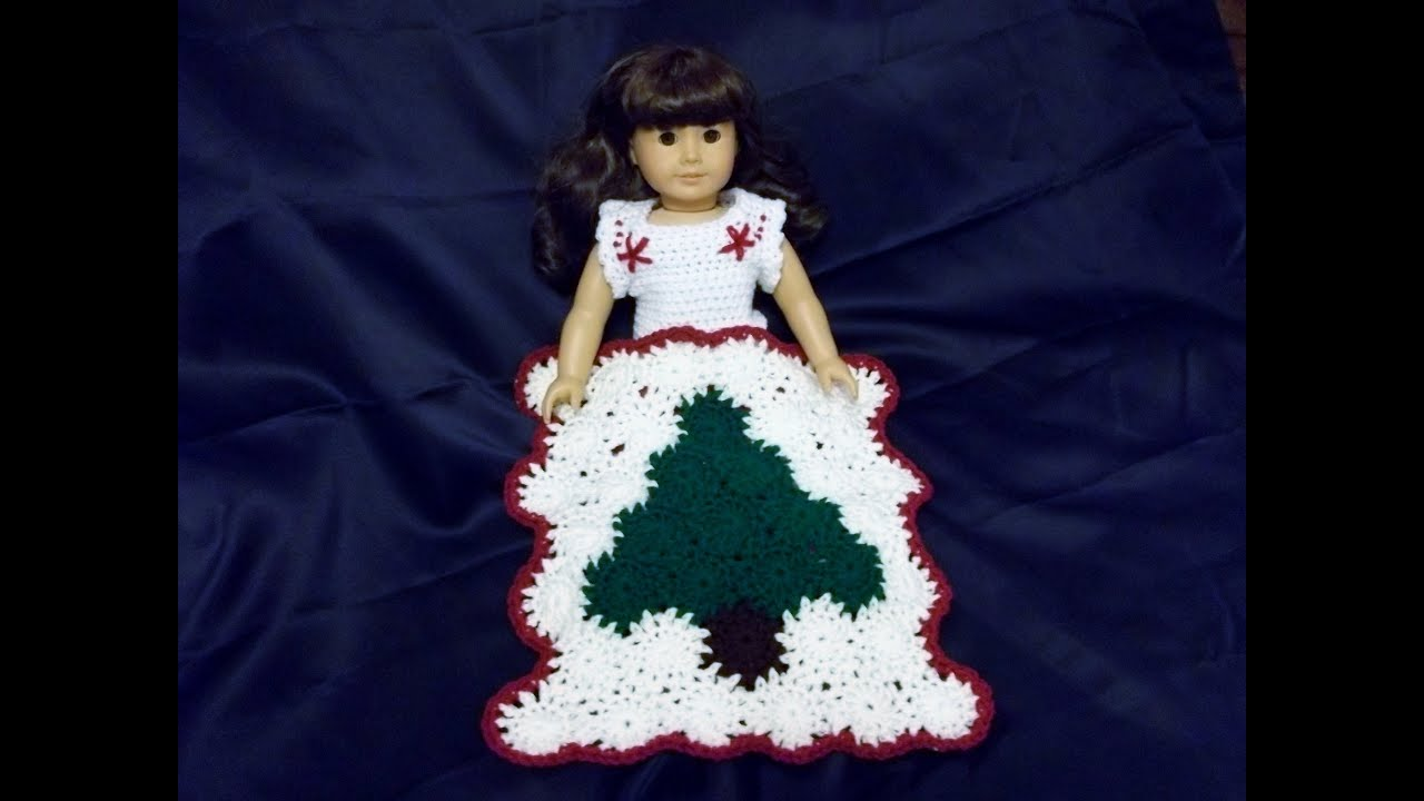 How To Crochet A Doll Blanket Yo Yo Method Youtube