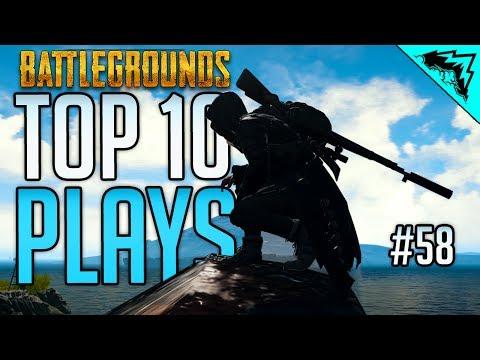 IMPOSSIBLE - TOP 10 PlayerUnknowns Battlegrounds Highlights & PUBG Plays (Bonus Plays 58)