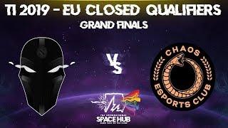 The Final Tribe vs Chaos EC Game 2 - TI9 EU Regional Qualifiers: Grand Finals