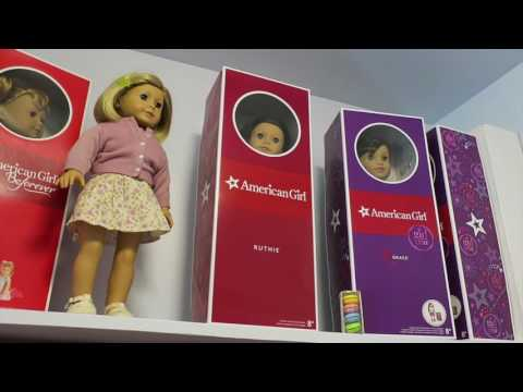 AMERICAN GIRL COLLECTOR STORAGE CLOSET | INtoyreviews
