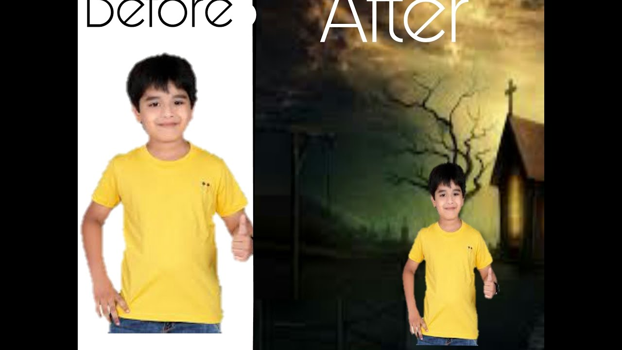 how to take a picture and change the background