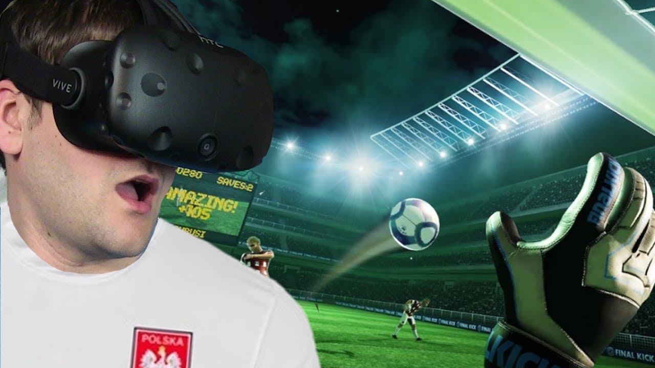 SYMULATOR PIŁKARZA – Final Soccer VR (HTC VIVE VR)