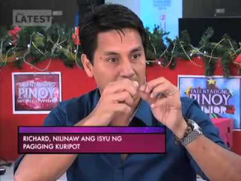 Ang Latest Dec. 28, 2012 -  Interview of Cong. Lucy Torres-Gomez with Richard Gomez